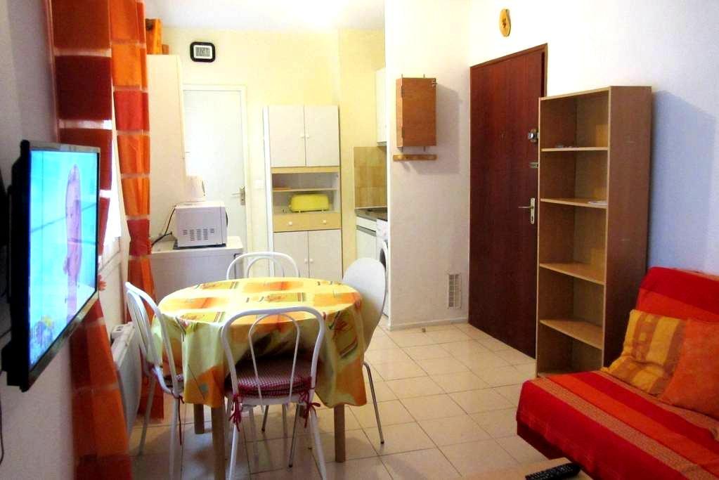 Charmant studio, centre historique - Narbonne - Apartemen