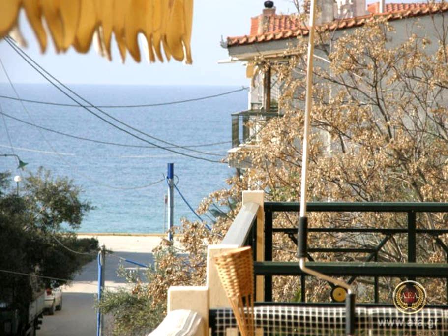 5 STEPS TO THE BEACH - Παραλία Οφρυνίου Καβάλας - Apartment