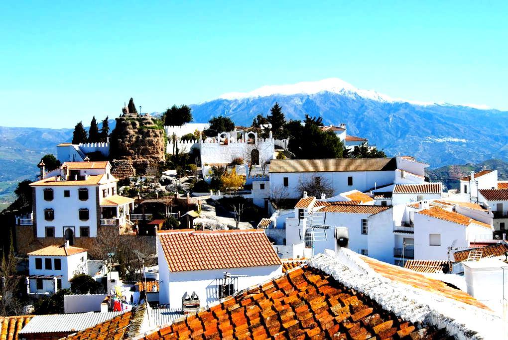 30 mins to beaches, air con, fantastic views, wifi - Comares