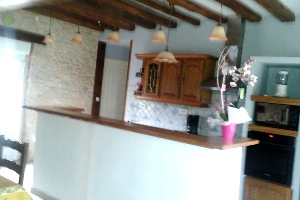 maison à la ferme avec une chambre - Fréville-du-Gâtinais - Casa