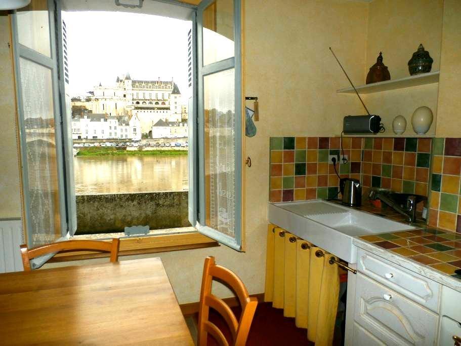 THE BLUE DOOR Ile d'Or Ground floor - Amboise - Ev