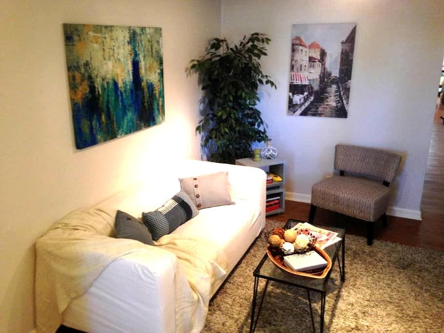 1BR Clean Midtown Apt w/ Parking - Walk Everywhere - Sacramento - Apartmen