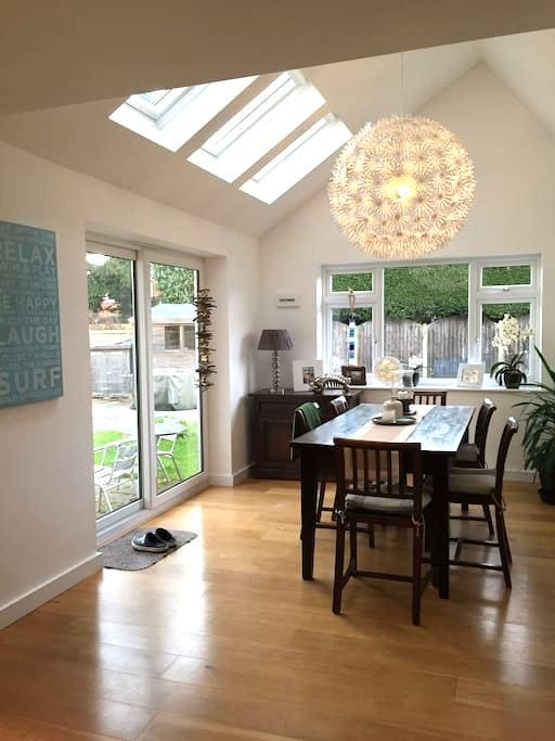 Contemporary living space - West Berkshire - 獨棟