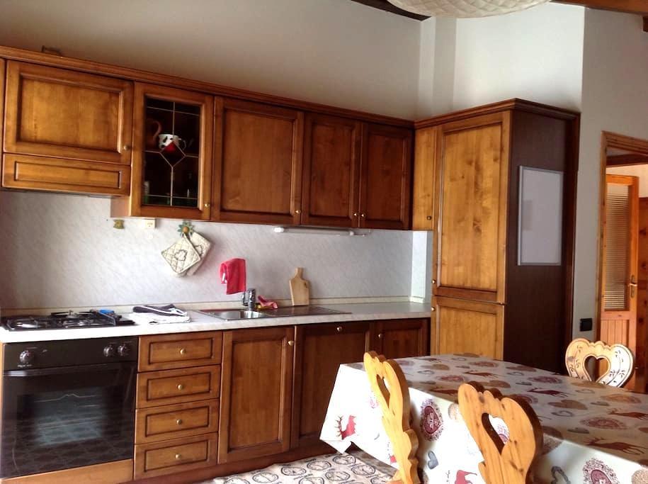 mansarda completa di comfort - Morgex - Apartamento