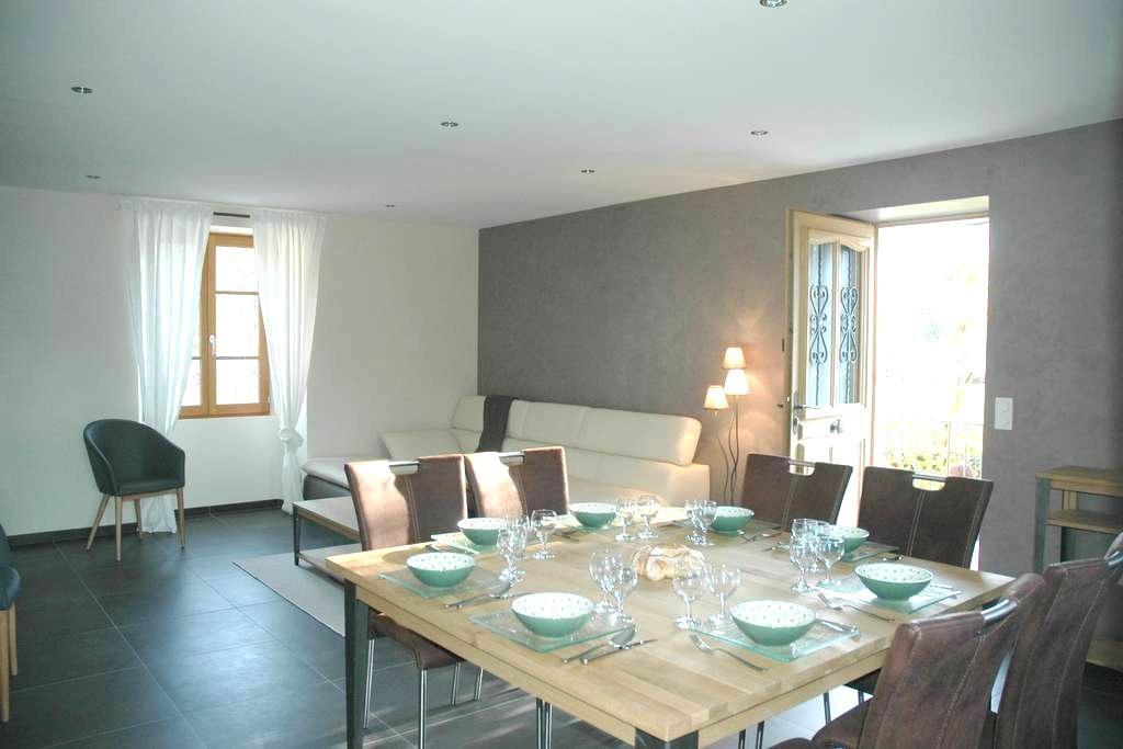 Belle propriété 100 m² avec jardin - Faverges - Apartemen