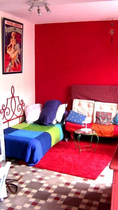 Chambre dans petite maison - La Ferté-Bernard - บ้าน