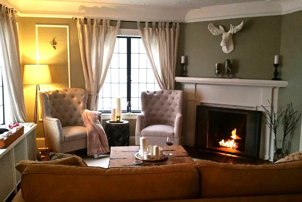 Private rooms 5 min walk to D.T. Ferndale - Ferndale - Dom