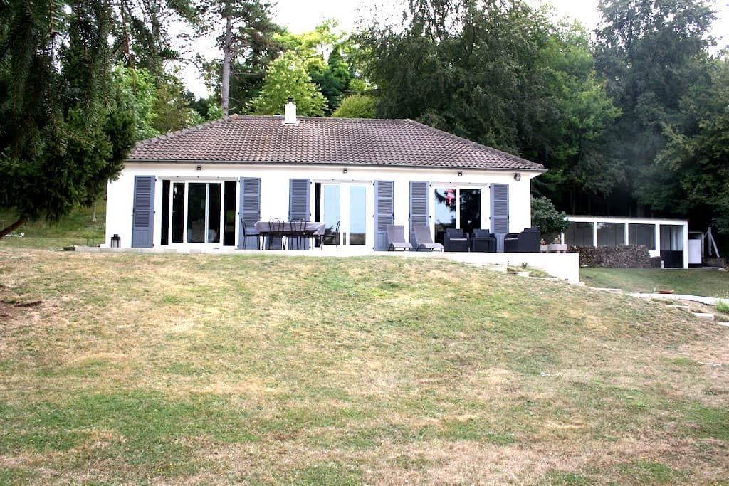 Belle maison de campagne train direct 1 h de Paris - Cherisy - Haus
