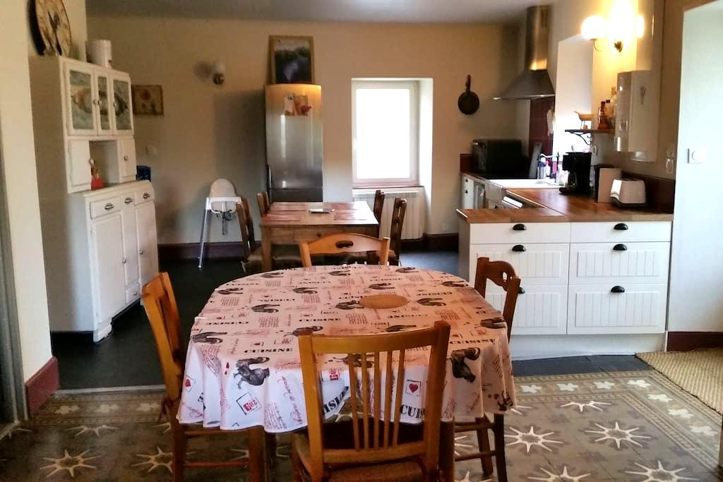 Gite de Tante Jeanne Ambiance cosi - Peaugres - Huis