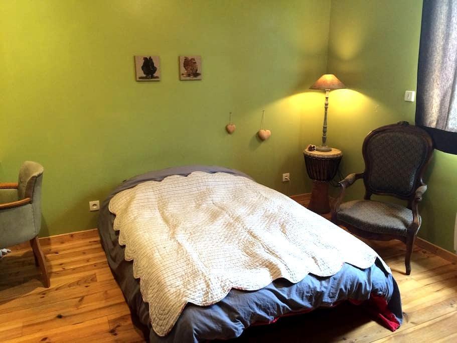 chambre dans maison au calme - Tignieu-Jameyzieu - Huis