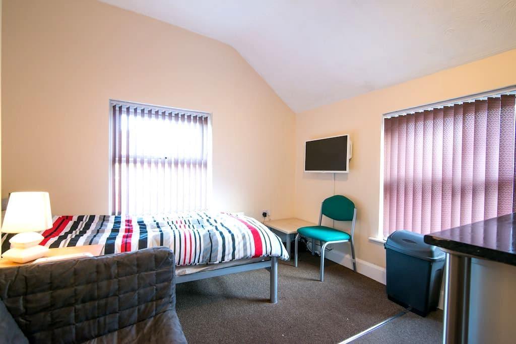NEWCASTLE U LYME, WOODLAND VIEW STUDIO 6 - Newcastle-under-Lyme - Apartament