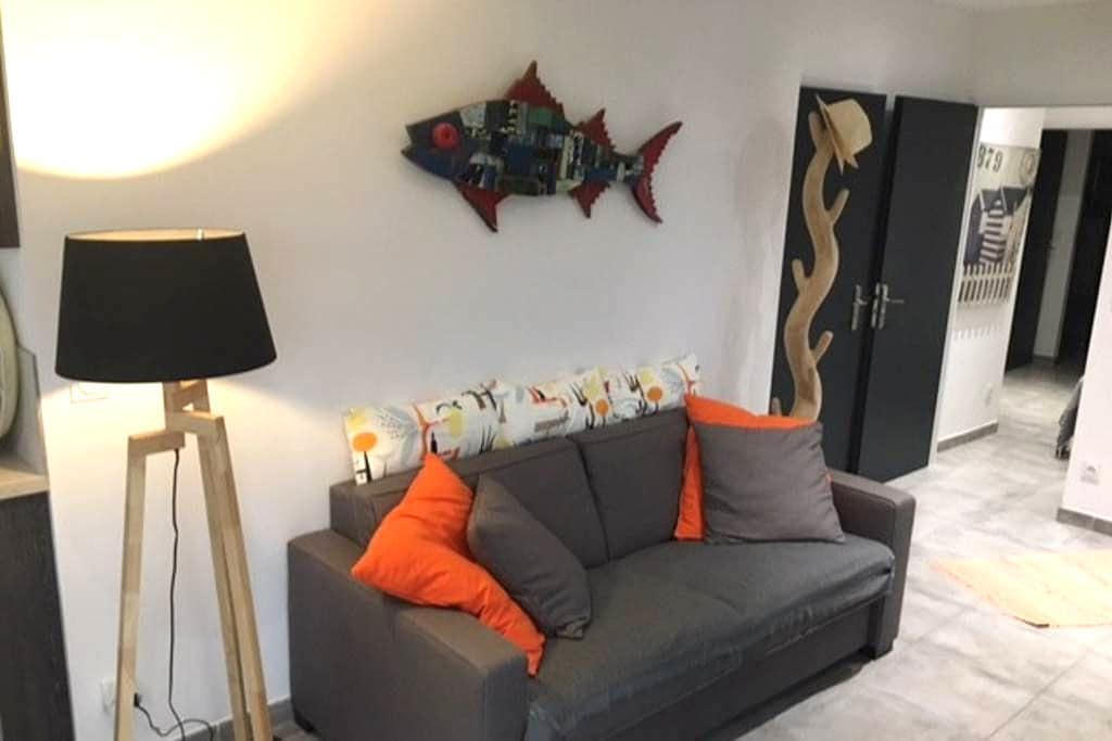 """""""BRISE MARINE"""" LES PIEDS DANS L'EAU AU LAVANDOU - Le Lavandou - Apartment"""