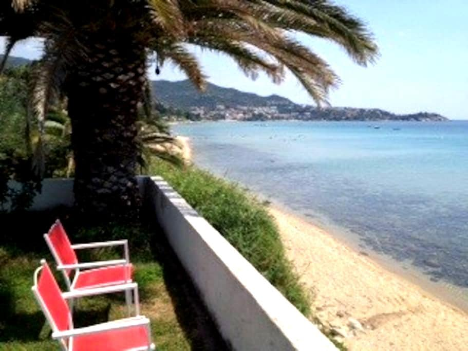 Apartment 60sqm in front of sea - Palio, Kavala