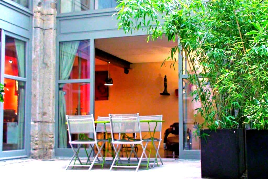 Loft 100 m2 au coeur de Lyon avec terrasse - Lyon - House