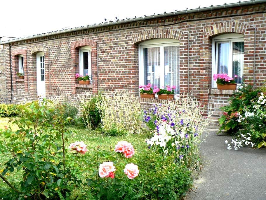 Joli maison*** plein pied, 37m2, à 2mn d'Amiens - Dreuil-lès-Amiens - Dom