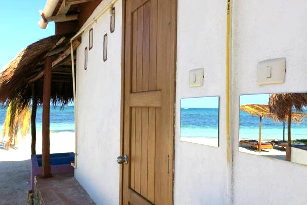 Lunazul buceo México (Cabaña Sur) - Mahahual - Cabin