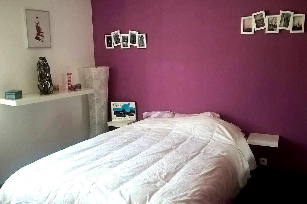 Chambre privée dans une maison accueillante - Tourcoing - Bed & Breakfast