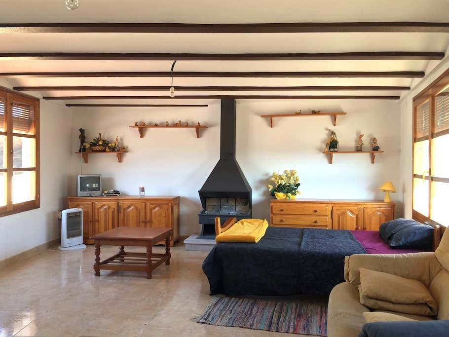 Casa rural céntrica para grupos o familias - Calaceite - 一軒家