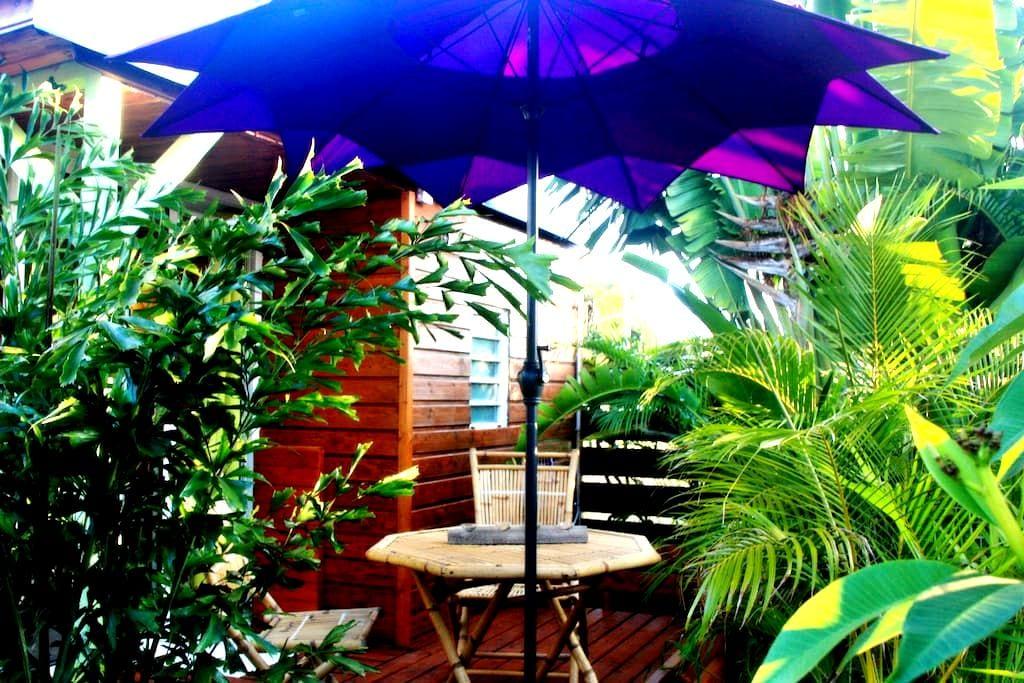 Ti Caze Nature, bungalow de charme - Etang-Salé les Hauts - 木屋