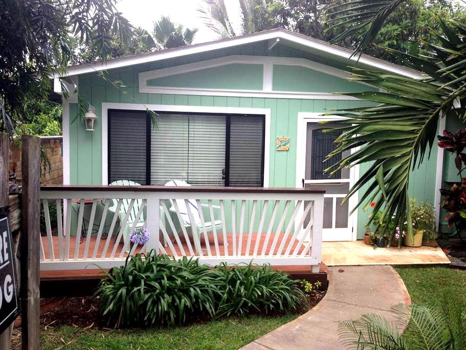 Cozy cottage surrounded by garden at North Shore - Waialua