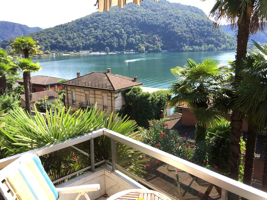 LAKE VIEW, 3 BEDROOM APT.SLEEPS 5-6 - Ponte Tresa