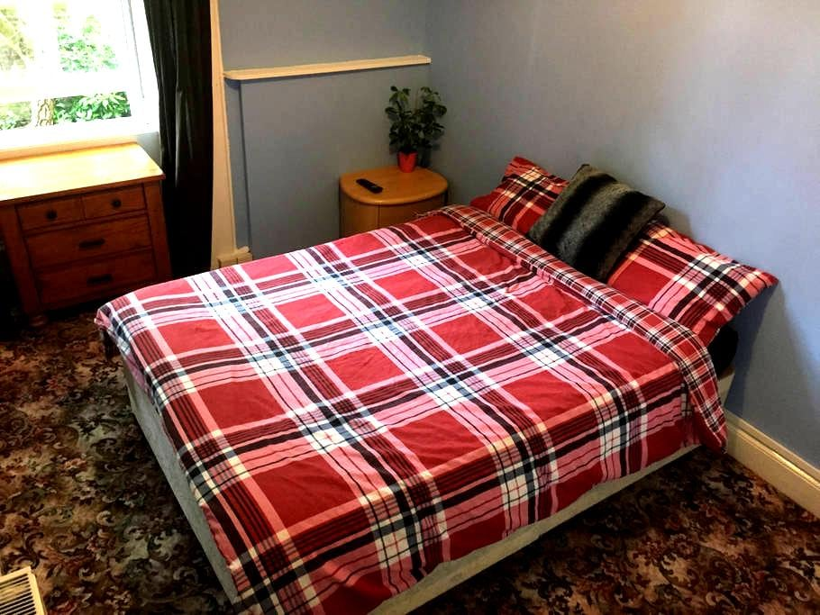 Cute Double Room in FINNIESTON - Glasgow - House