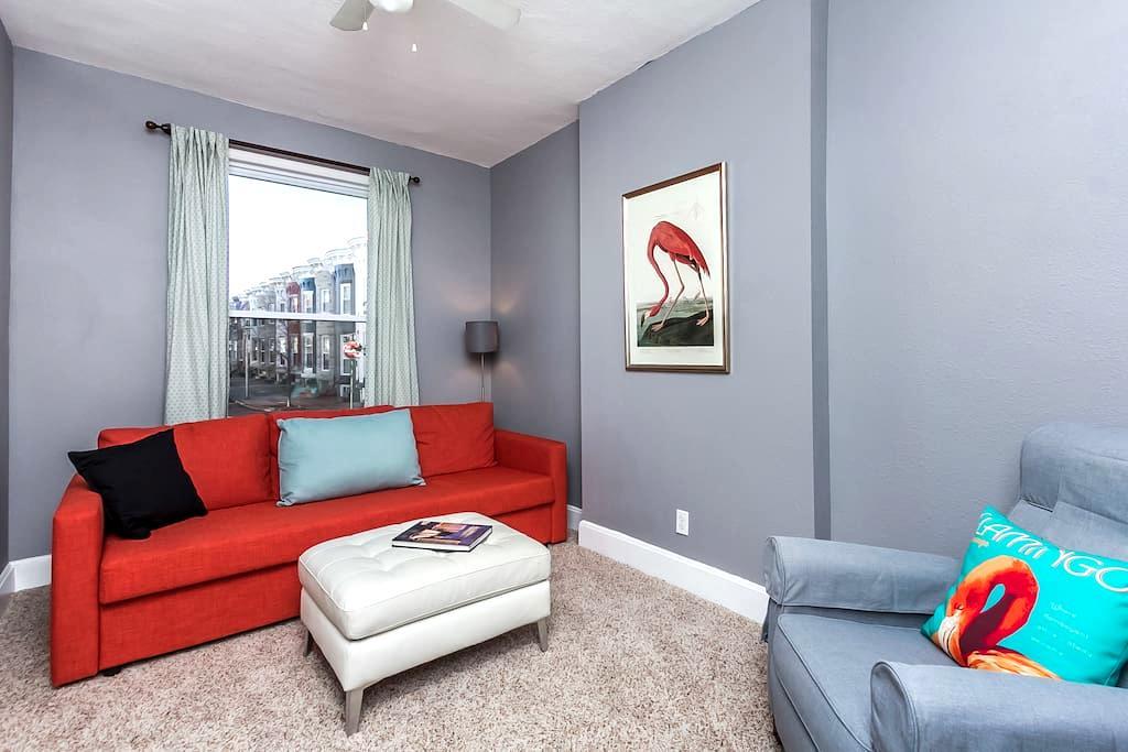 Hampden Flamingo - 巴爾的摩 - 公寓