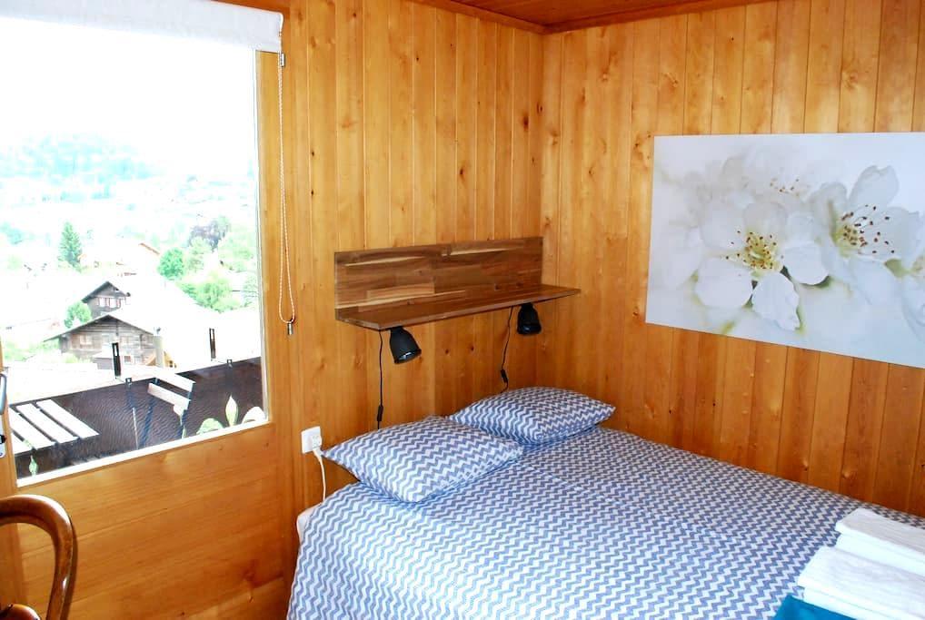 Habitación doble Niederhorn - Chalet Röseligarten - Spiez - Casa