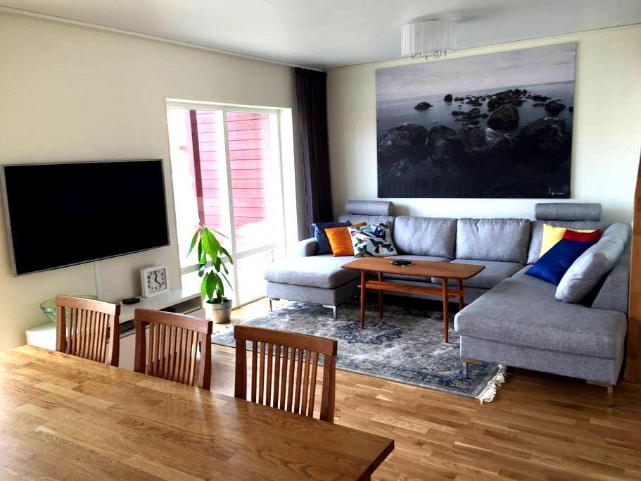 Nybyggt & centralt nära skidstation & arenan - Östersund - Rumah bandar