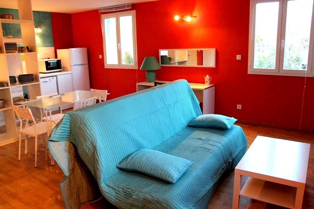 Studio meublé 4 pers avec terrasse  - Montaren-et-Saint-Médiers - Apartamento