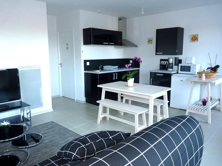 T2 neuf de 44 m² avec terrasse, sud Landes - Ondres - Apartamento