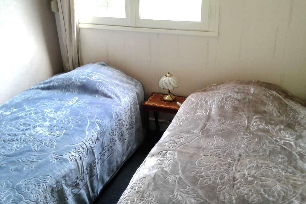 Chambre lits jumeaux ou séparés - Angers - Apartemen