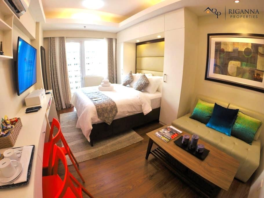 Riganna One @ Shell Residences - near Airport, MOA - Pasay - Wohnung