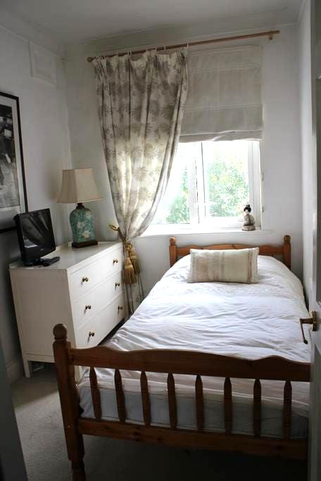 Pretty single room in Egham Town Centre - Egham - Penzion (B&B)
