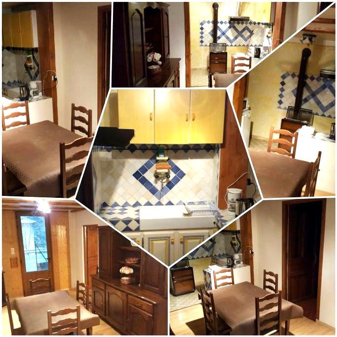 Appartement 20' station de ski - Thorame-Haute - Apartment