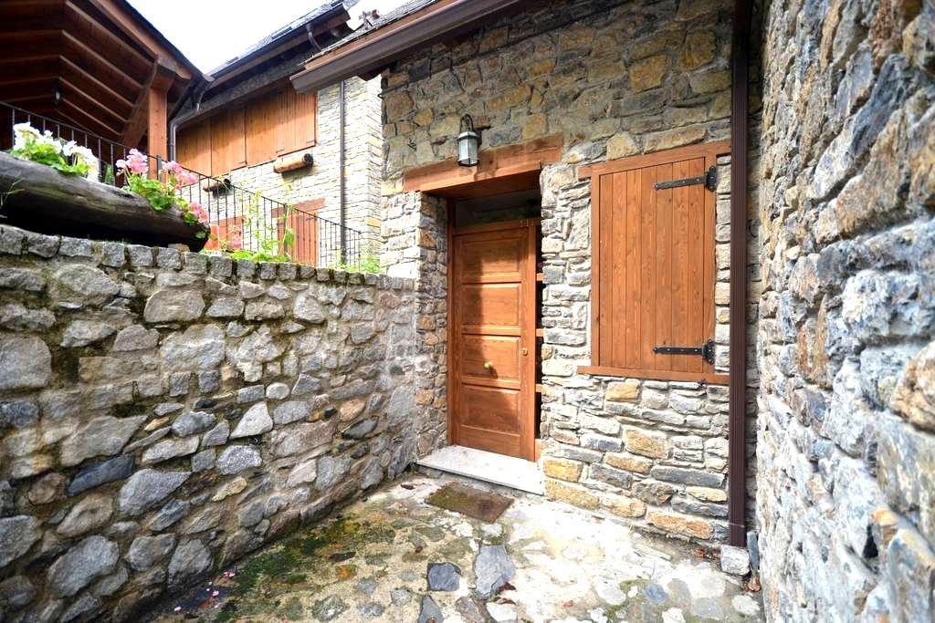 Apartamento rústico en Escunhau - Escunhau - Apartament