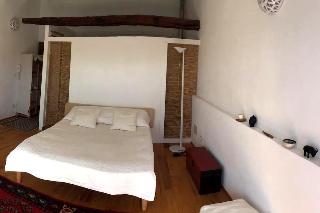 camera con bagno e terrazza/centro storico - Sassari - Apartment