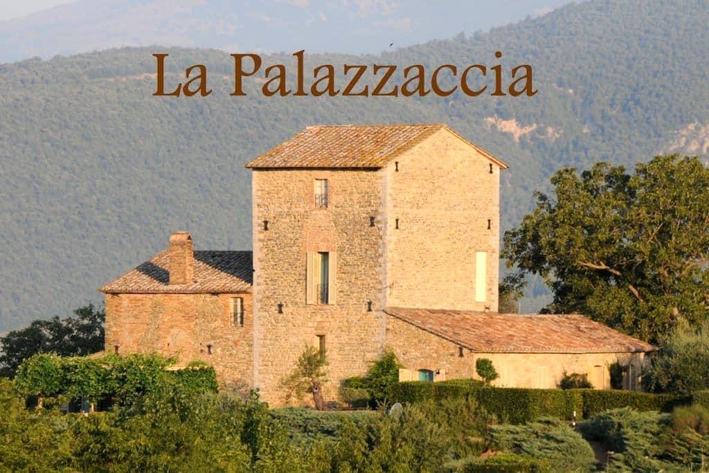 Stunning Umbrian Villa with pool - Pierantonio - Villa