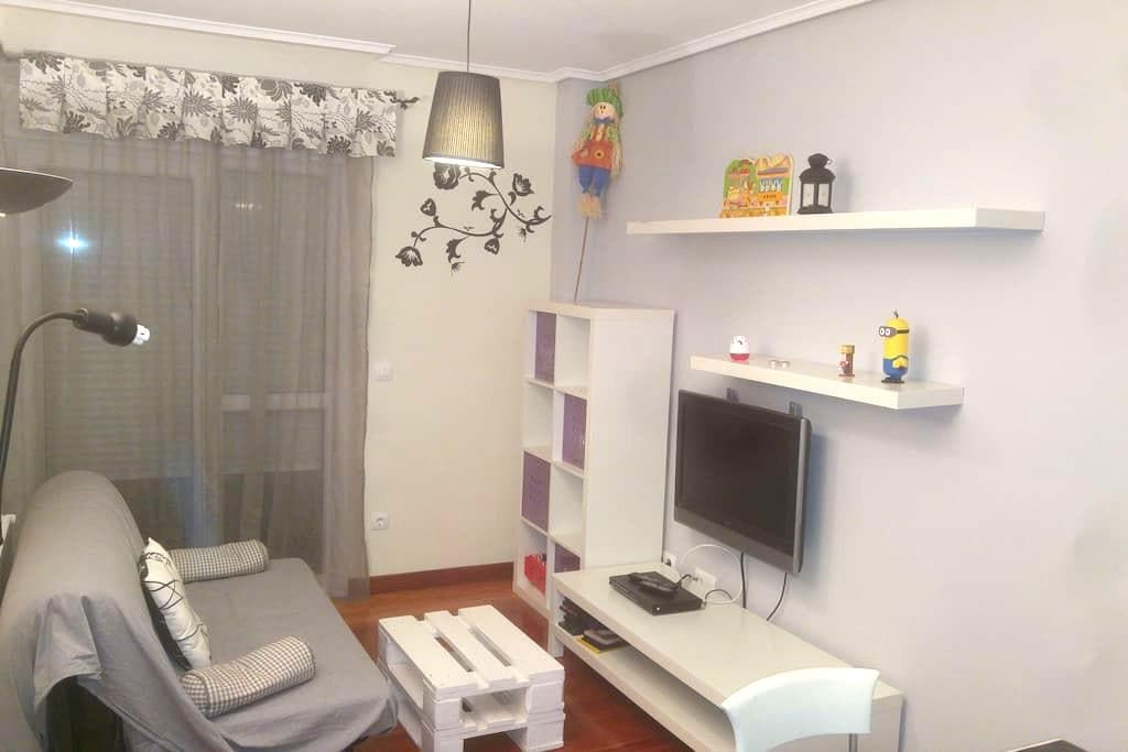 Apartment with 2 rooms. - Gibaja - Daire