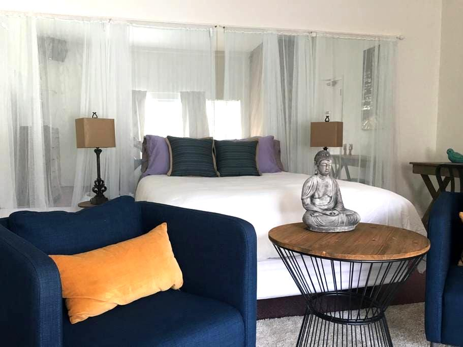 Buddha Room-Serene Space with Patio - El Cerrito