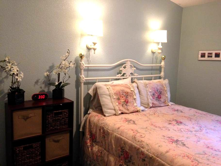 Private bedroom and bath - Anderson Island