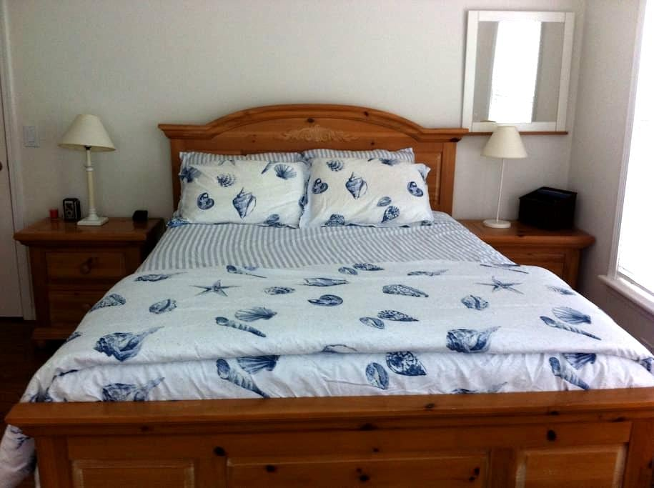 Private Bedroom and Bathroom in MTK - Montauk - Dom