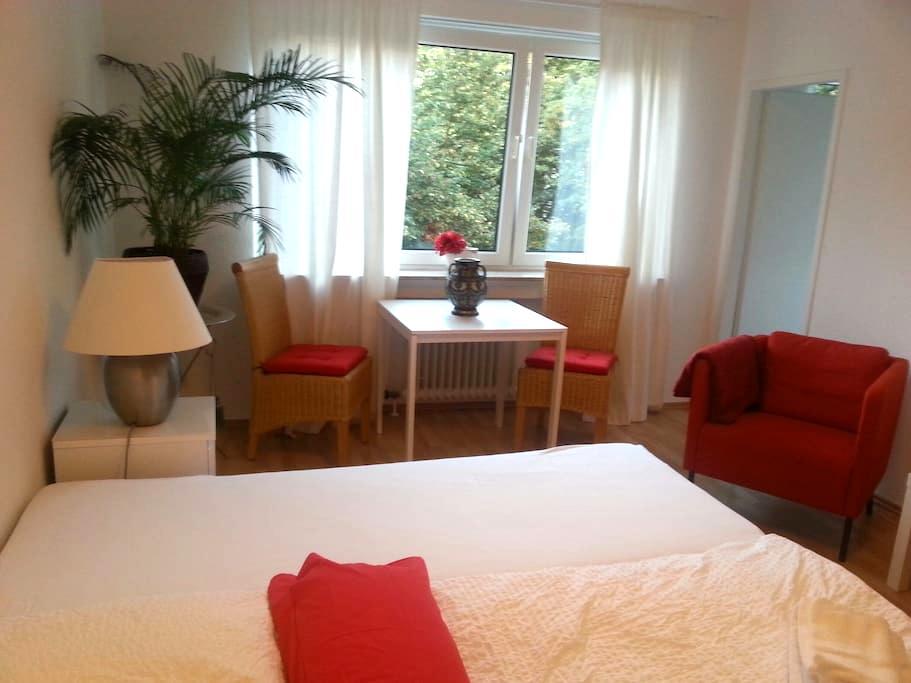 Cosy Apartment Red Rheingauviertel - Wiesbaden - Apartamento