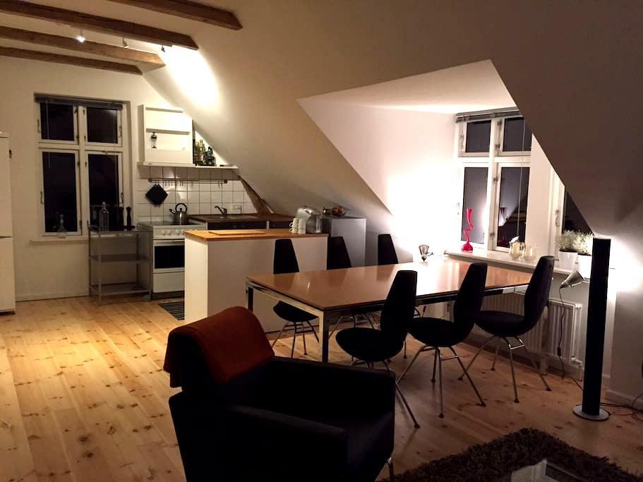 Beautiful apartmemt, 6 km to Cph C. - Søborg - Leilighet
