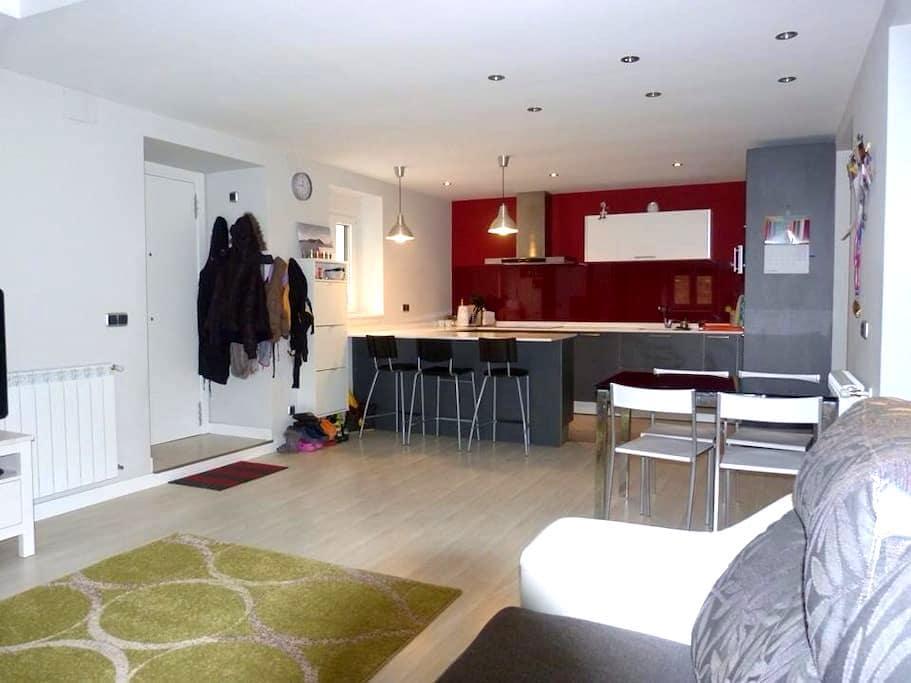 Expectacular apartamento en caserio - Hernialde - 公寓