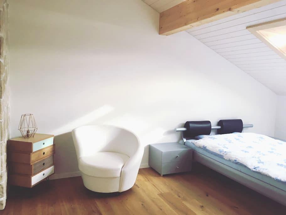 Superbe chambre à deux pas de Fribourg - Sankt Ursen - Apartment