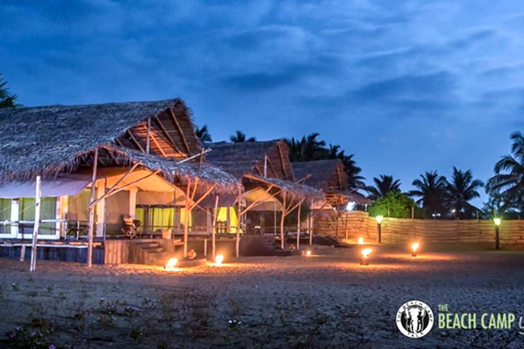 The Beach Camp - Yala - Kirinda, Yala - Tenda de campanya