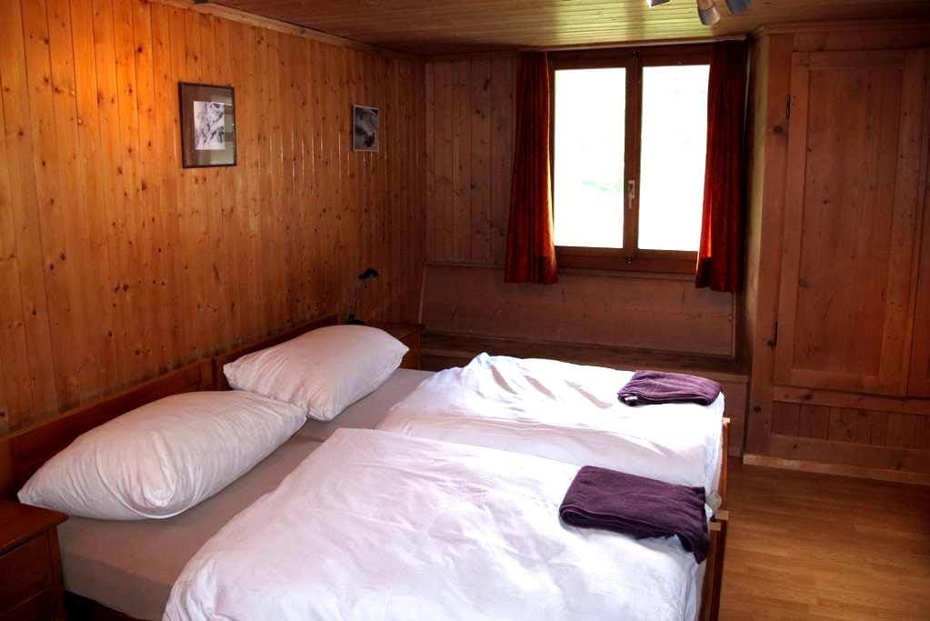 Double /Twin Room Mountain View 1 - Churwalden - Chalet
