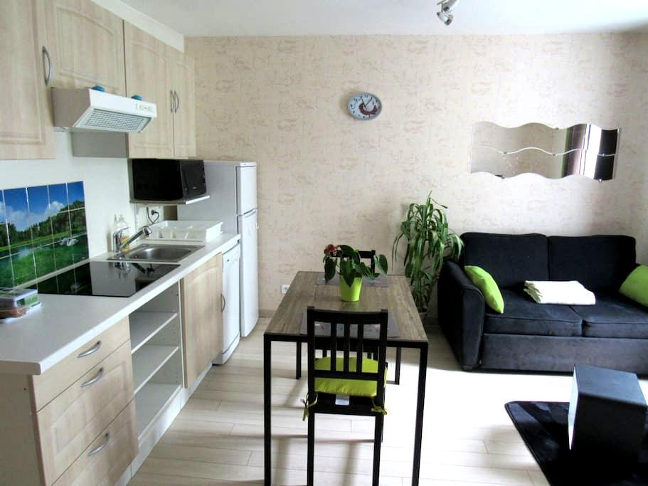 LE COCOONING-Parking gratuit-2* - Dijon - Apartament