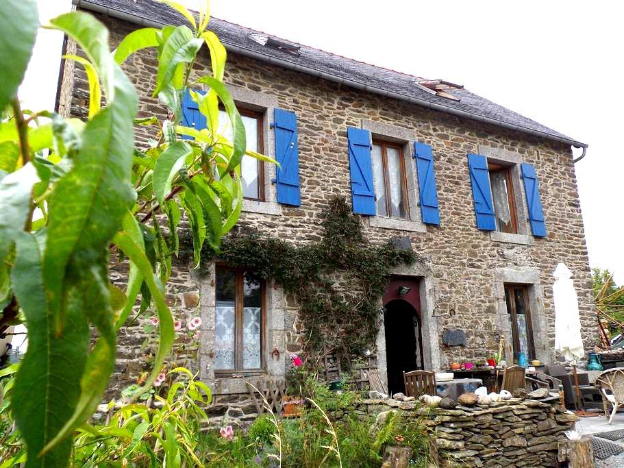 chambre dans maison de campagne 2 - Lopérec - Casa
